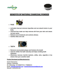 Coconut Shell Charcoal Powder, For Incense Sticks