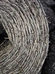 Galvanized Iron Barbed Wire, For Agriculture