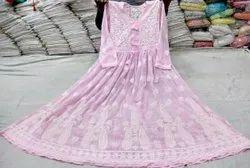 Multicolor Embroidered Bajirao Mastani Dress