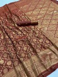 Banarasi Silk Festive Wear Handloom Saree