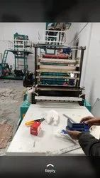 50 Micron Virgin Recycled Carry Bag Machine