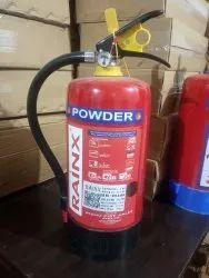 RAINX Portable ABC Type Fire Extinguisher, Capacity: 4 Kg