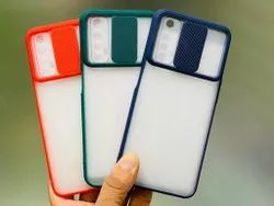 Plastic, Rubber. Slider Case Cover, For Only Business Usage., Size: 12.50 Cm
