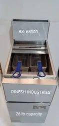26 Ltr Standing Gas Deep Fryer