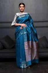 Tussar Silk Weaving Saree