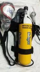 Pa 90 Plus STEEL DRAGER BREATHING APPARATUS, For Scba, Volume Of Cylinder: 6 Litres