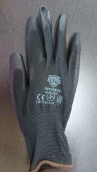 Midas Cut Resistant Hand Gloves, Model Name/Number: Valpro Pu Black On Black