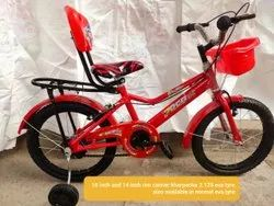 Red Plastic Kids Cycle, Model Name/Number: 14 And 16 And 20 Inch