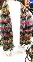Multi Colored Tourmaline Beads mani
