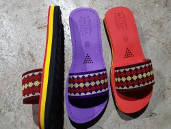 Flat Ladies Eva Flip Flops Slippers, Size: 5 Inch