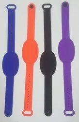 Silicon Button Wristband