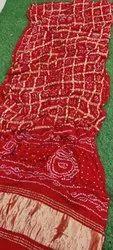 Pure Gazi Bhandni Silk Saree