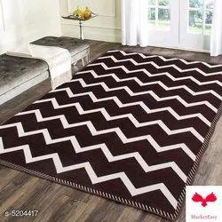 Trendy heavy Polyster Chennile Carpet