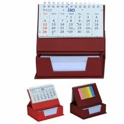 English Paper Office Table Calendar, For Promotion