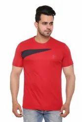 Magicfit Plain Men Dry Fit T Shirt, Size: M L XL