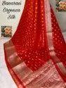 Banarasi Organza Silk Buti Work Sarees