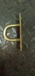 Mild Steel Fan U Rod Centering Hook Clamp, Size: 8 Inches(l)