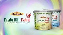 高光泽白色卡迪Prakritik乳胶漆,家用,包装类型:桶