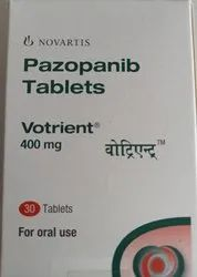 Pazopanib Tablets 400 Mg