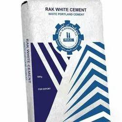 Rak White Portland Cement (1 Kg, 5 Kg, 25 Kg, 50 Kg Pack Size)