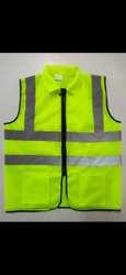 Unisex Polyester Reflective jackets, For Construction