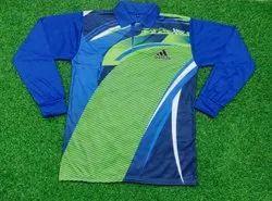 Polo Neck Green Men Full Sleeve T Shirts, Size: M-XXL