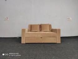 Mild Steel Modern Sofa Cum Bed, For Home, Size: 48*72