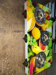 3 Burner Gas Stove, For Kitchen