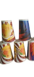 350 Ml Printed Paper Glass