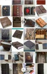 Leather Diary With Stone