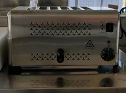 ET-DS-6 Stainless Steel Toaster, For Hotel, Toasting