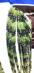 Green Tourmaline Gemstone Beads