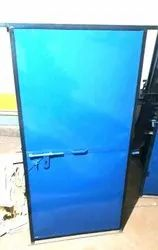 Standard Blue Ms Door 2.5x6ft, Single, Thickness: 18mm