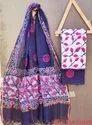 Hand Block Printed Kota Doria Suits