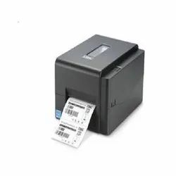 TSC TE 244 Barcode Printer With One Label Roll And Ribbon Free, Max. Print Width: 6 inches, Resolution: 203 DPI (8 dots/mm)