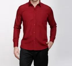Fickle Poly cotton blended Mens Shirt