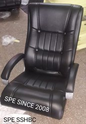 Leather Office Black Chair