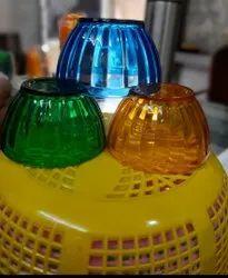 Pooja brand Round Plastic Bowl