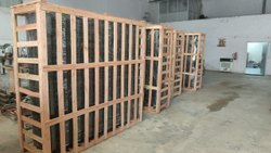 Charu Packaging 4 Way Wooden Pallet, For Commercial, Capacity: 1000 Kg