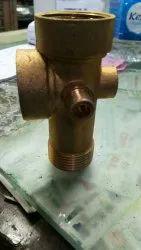 Five way valve