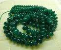 Zambian Emerald Smooth Cabochon Beads Roundells