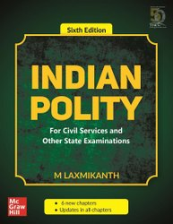 English Indian Polity Book, Six Edition, M. Laxmikanth