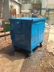 1100 Liter Ms Garbage Container
