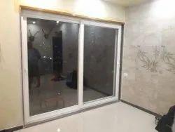 Glass Coated Aluminum Sliding Window, 2