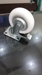 6 X 2 Pp Wheel Medium Duty Bracket Swivelwith Brake