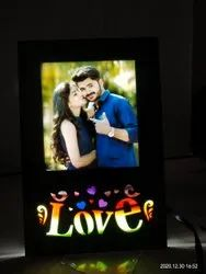 Wooden Sublimation Led Frame