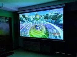 ELCOR lite series Motorized Projector Screen 120 Inch Diagonal