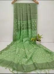 Jute Organza Weaving Sarees