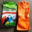 ORANGE Pentagon Industrial Gloves