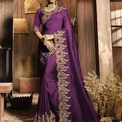 Women Sarees Embroidery Work